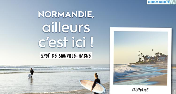 « Normandie, ailleurs c'est ici ! » : nouvelle campagne de promotion touristique de la Normandie !