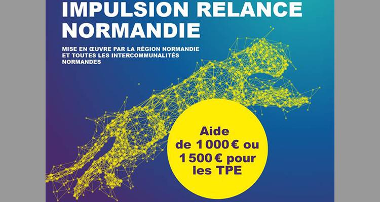 Ouverture de la plateforme de dépôt des demandes de l'aide Impulsion Relance Normandie