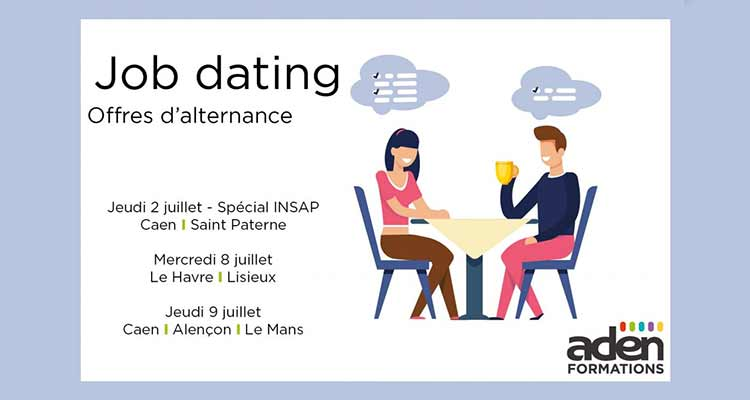 Job Dating Aden Formation : + de 250 contrats en alternance à pourvoir !