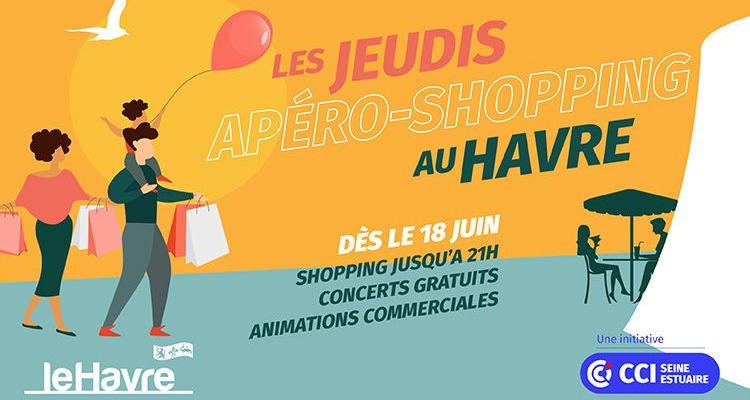 Lancement des jeudis apéro-shopping #consommerlocal