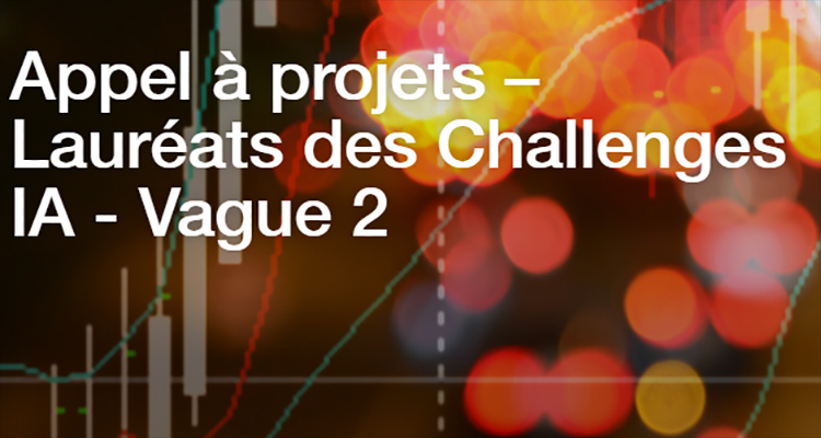 Plan « Intelligence Artificielle » : lancement du « Challenges IA »