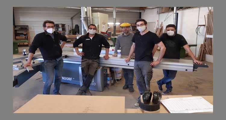A Ifs, l'Atelier Décomeuble accompagné par la CCI Caen Normandie en plein confinement