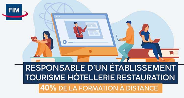 FIM CCI Formation: du nouveau pour la formation «Responsable d'Établissement Tourisme Hôtellerie Restauration»