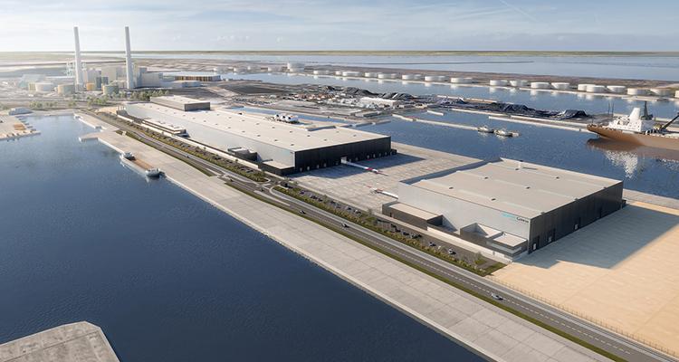 Usine éolienne Siemens Gamesa au Havre : GTM Normandie-Centre retenu pour la construction de l'usine