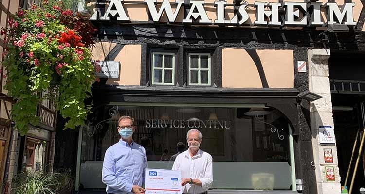 Le restaurant La Walsheim renouvelle son label NQT