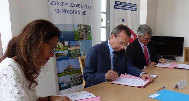 Action Logement et Pôle emploi Normandie s'engagent pour l'emploi en facilitant l'accès au logement