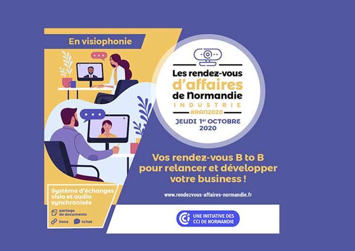 Les Rendez-vous d'Affaires de Normandie Industrie