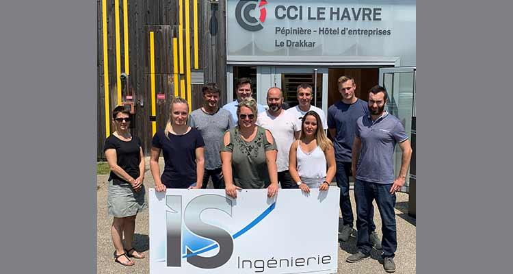 IS Ingénierie Le Havre opte pour l'Hôtel d'entreprises Le Drakkar