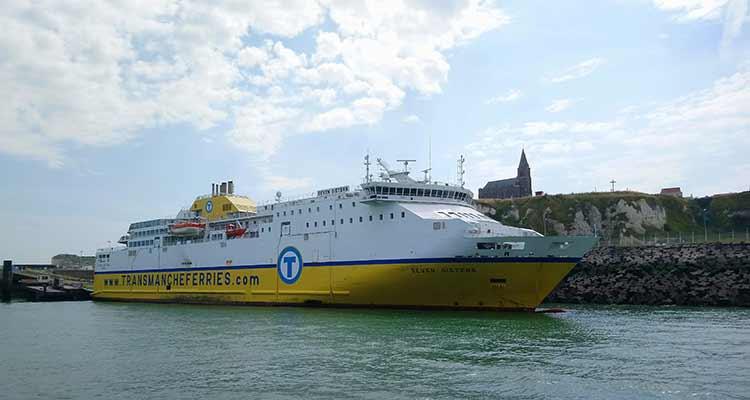 La ligne de ferry Dieppe-Newhaven reprend sa troisième rotation quotidienne