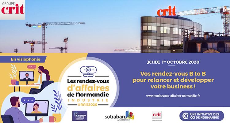 Crit Normandie, partenaire des Rendez-vous d'affaires de Normandie