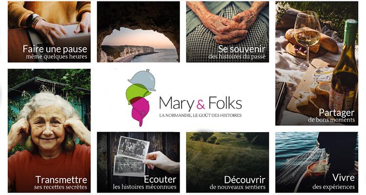 Accompagnée par la CCI Caen Normandie, « Mary & Folks » veut faire découvrir la Normandie autrement aux Français
