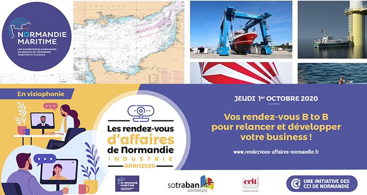 Normandie Maritime : partenaire des Rendez-vous d'affaires de Normandie 2020