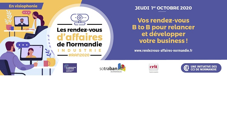 Les Rendez-vous d'Affaires de Normandie Industrie : Speed meeting pour entrepreneurs industriels normands