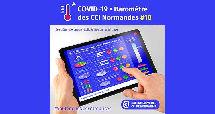 COVID-19 : Reprise du baromètre mensuel des CCI de Normandie