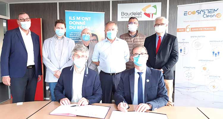 Le Groupe Baudelet Environnement intègre l'écosystème Cléon 4.0