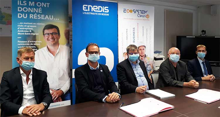Enedis rejoint l'ECOSYSTEM CLEON 4.0