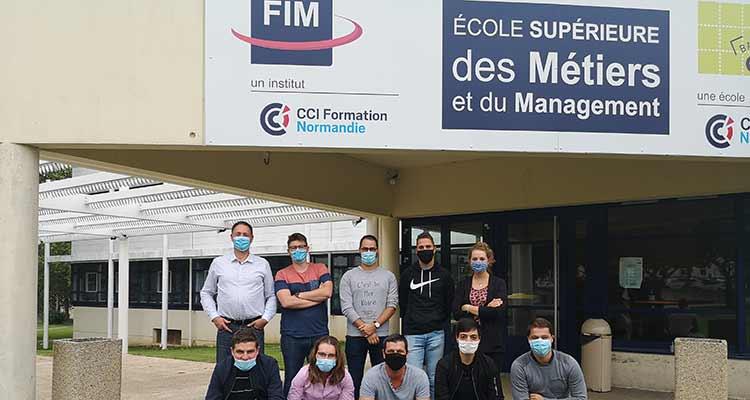 FIM CCI Ouest Normandie : des étudiants défendent les couleurs de la Normandie