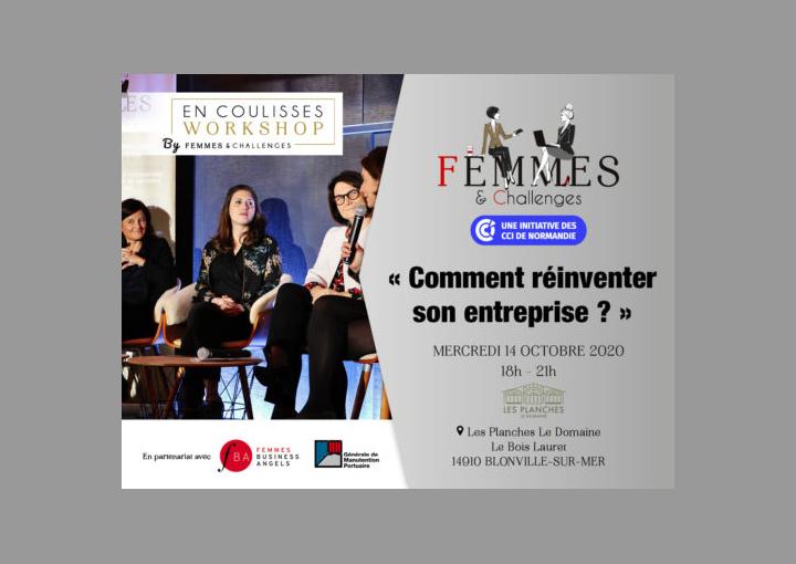 Workshop Femmes & Challenges : Comment réinventer son entreprise ?