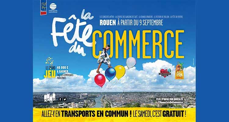 Une fête pour relancer le commerce à Rouen