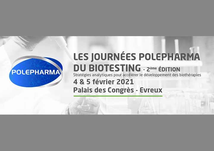 Journées Polepharma du Biotesting – 2ème édition