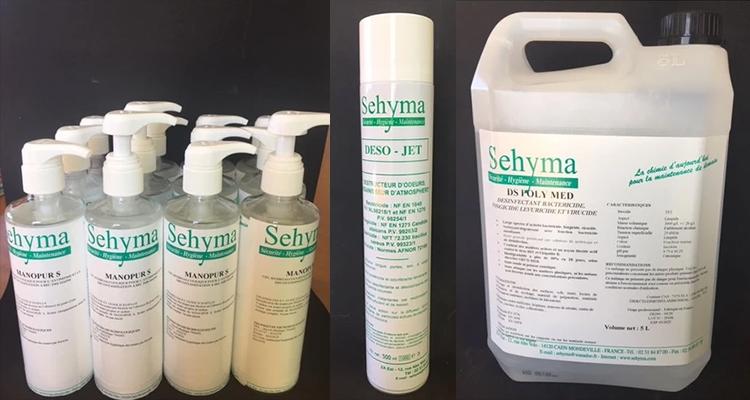 SEHYMA intègre la plateforme « Protégez-vous Normand » avec ses gels hydroalcooliques