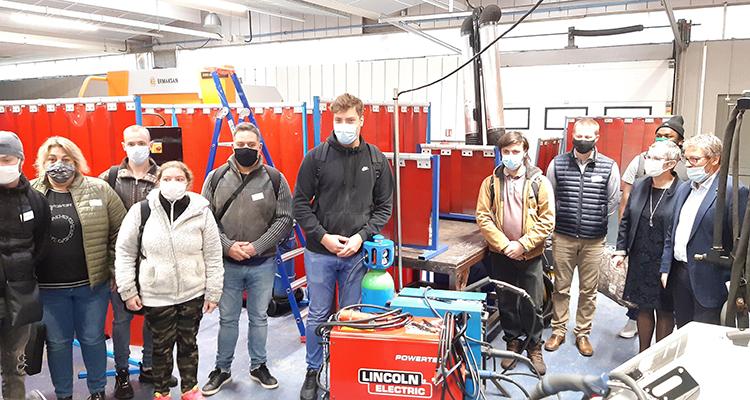 La CCI Rouen Métropole et le GRETA montent une formation soudeurs pour les entreprises du Pays de Bray.
