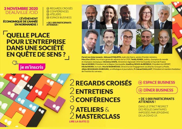 UEN édition 2020 : le 3 novembre à Deauville