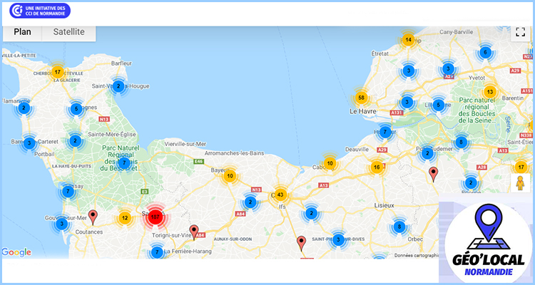 A Saint-Lô, les commerçants plébiscitent la plateforme des CCI: Géo'local Normandie