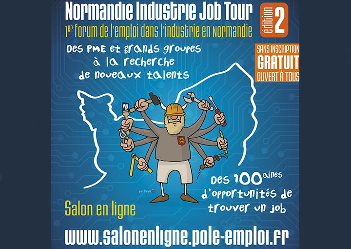 Normandie Industrie Job Tour : une édition 2020 100 % dématérialisée