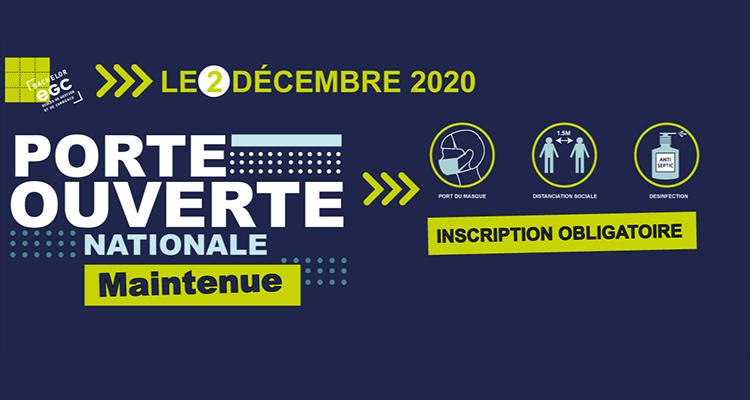 EGC Normandie : une journée Porte Ouverte dans le respect des gestes barrières