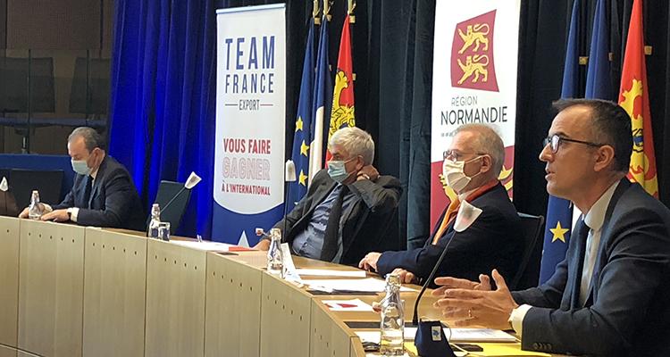 La neuvième étape du Relance Export Tour faisait halte en Normandie