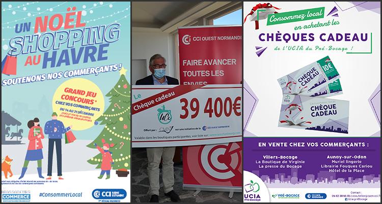 Pour Noël, les CCI se mobilisent en faveur des commerçants