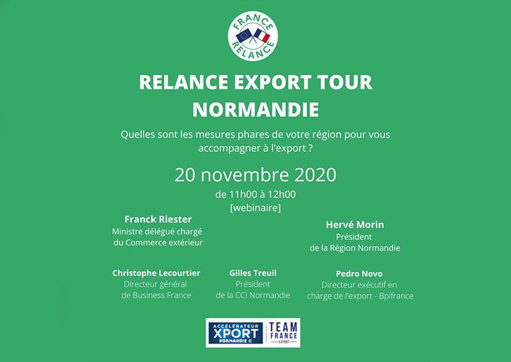 Relance Export Tour Normandie