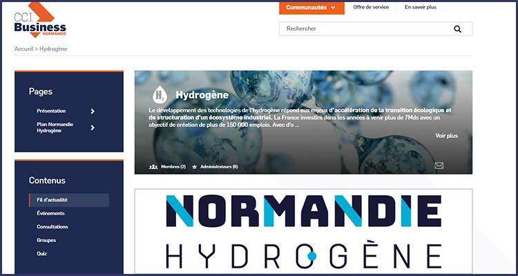 CCI BUSINESS HYDROGENE : Un booster pour l'hydrogène en Normandie