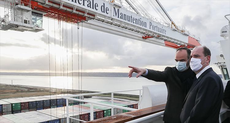 1,45 milliards pour les ports du Havre, de Rouen et de Paris