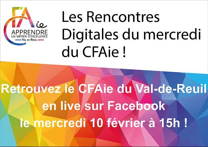 Les rencontres digitales du CFAIe