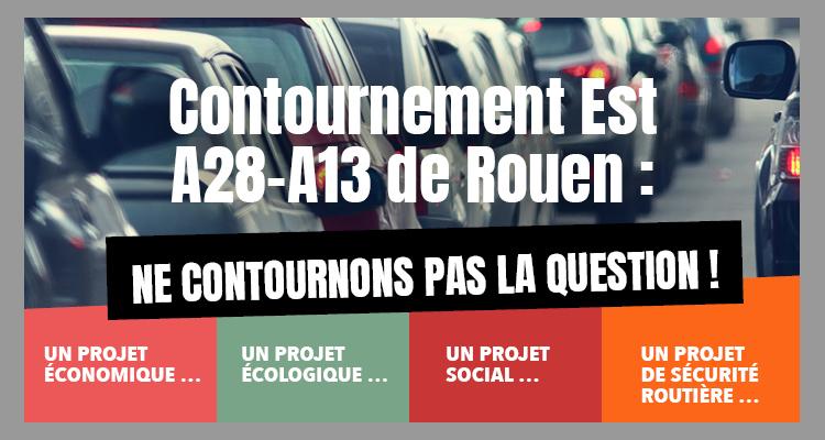 Contournement Est de Rouen : la mobilisation de la CCI Rouen Métropole !