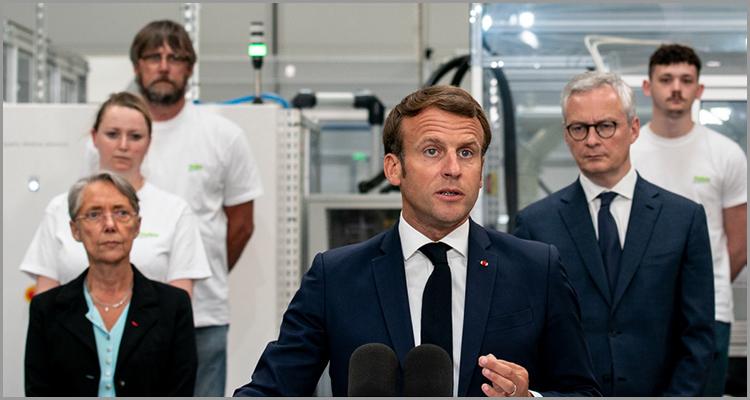Visite présidentielle en Normandie