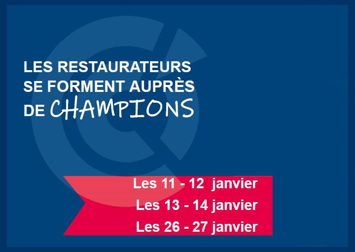 FIM CCI Formation Normandie : des formations réalisées par des MOF et Champion du monde