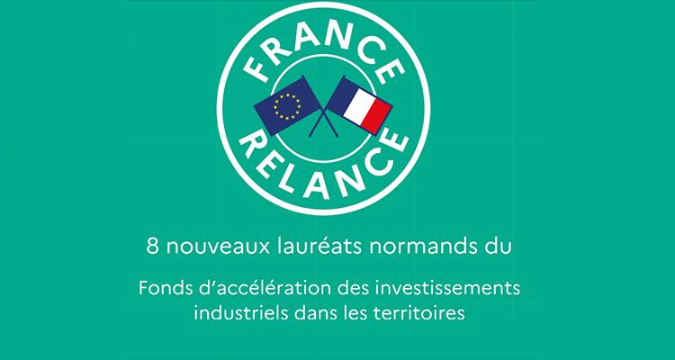 Relancer l'investissement industriel dans les territoires : 8 nouveaux lauréats en région Normandie