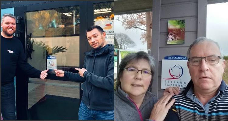 CCI Rouen Métropole : 2 nouveaux établissements labellisés NQT