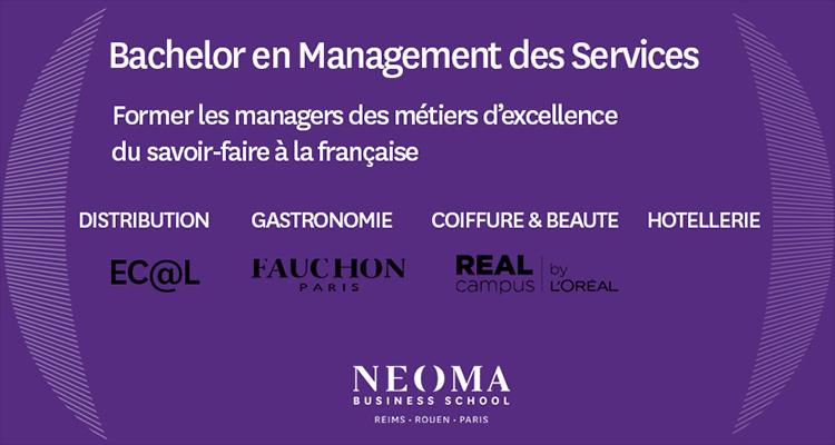 Un nouveau Bachelor en Management des Service pour NEOMA Business School
