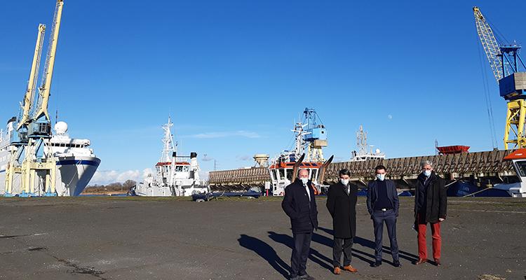 La CCI Caen Normandie dresse le bilan 2020 pour ses équipements portuaires.