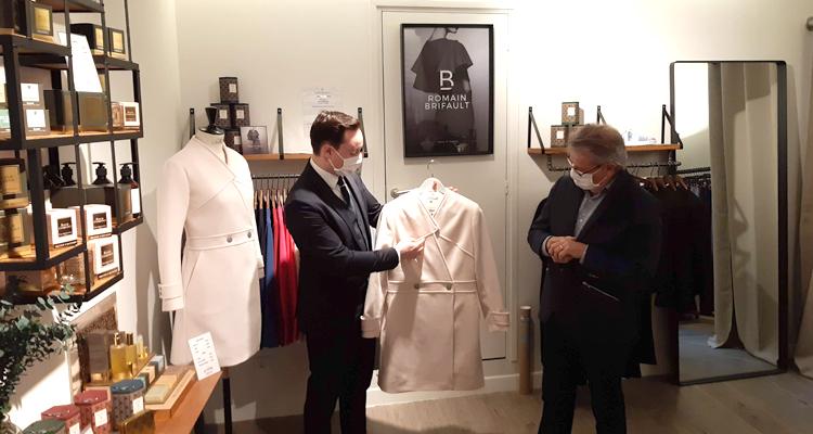 La maison de couture Romain Brifault investit le centre-ville de Rouen