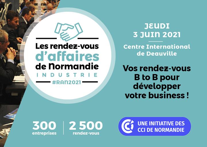 Les Rendez-vous d'Affaires de Normandie 2021 à Deauville