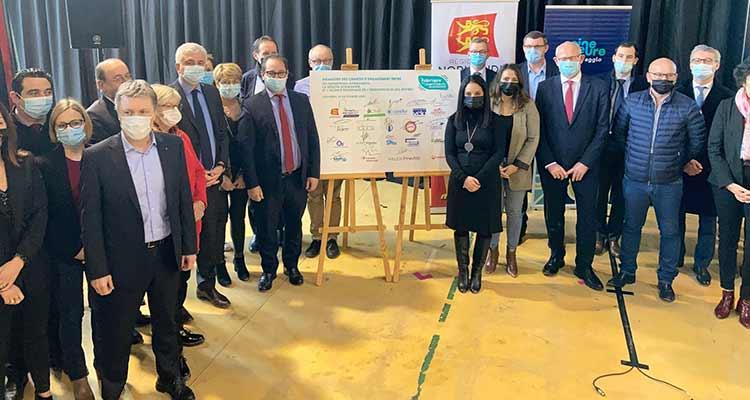 20 entreprises du territoire de l'Agglomération Seine Eure s'engagent aux côtés de la Région et de l'Agence Régionale de l'Orientation et des Métiers pour faire connaître leurs métiers aux Normands !