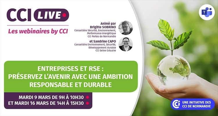 Les CCI de Normandie accompagnent les entreprises dans leur démarche RSE