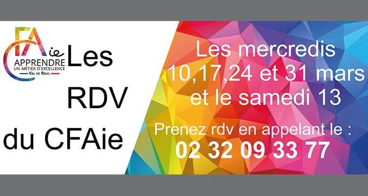 Accueil sur rendez-vous au CFAie de Val-de-Reuil