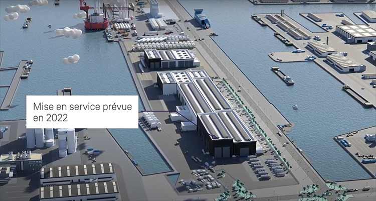 210 nouveaux postes ouverts pour la future usine d'éoliennes en mer au Havre
