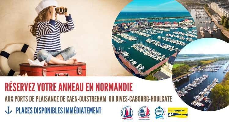 Les ports de plaisance gérés par la CCI Caen Normandie présents au salon Virtual Nautic